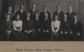 Athletic Committee, 1910-1911