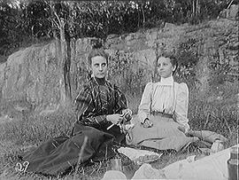 [Two Women at a Picnic]