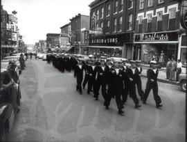 Naval Parade of Sea Cadets on Princess Street