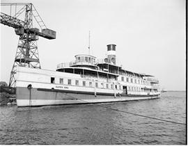 Rapids King a Ship at Canadian Shipbuilding and Engineering Dock