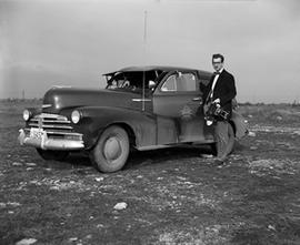George Lilley and Chevrolet Sedan Delivery