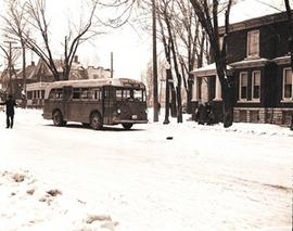 Bus Breakdown at Corner of Princess Street and Frontenac Street