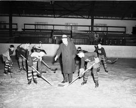 Rotary Hockey Game in Old Jock Harty Arena