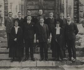 Athletic Committee, 1917-18