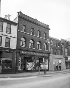 Federal Stores on the Corner of Princess Street and Wellington  Street
