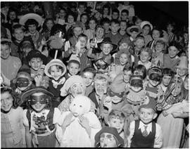 Children in Hallowe'en Costumes