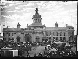 [Back of City Hall and Market Square, Kingston]