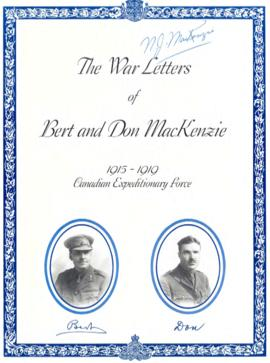 Bert and Don MacKenzie fonds